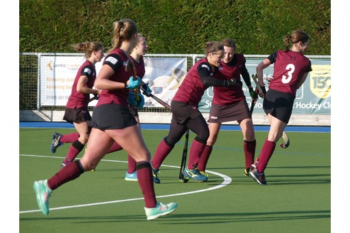 Ladies' 1s v ISCA 021