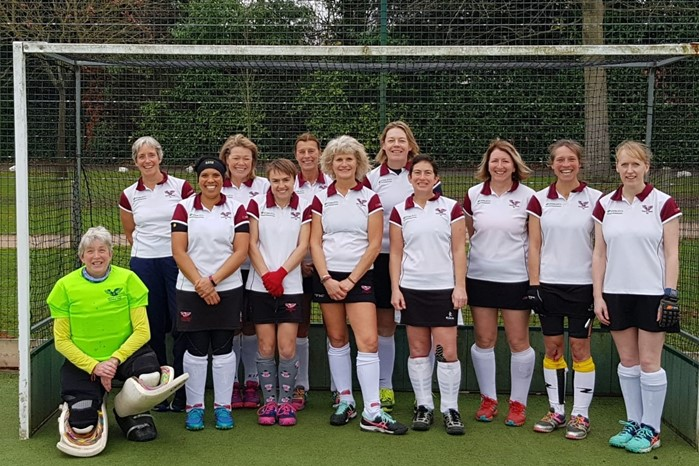 Ladies' O45s team November 2018 001