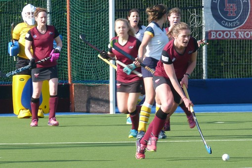 Ladies' 1s v Barnes 007