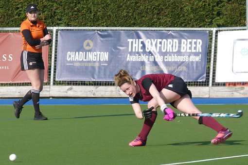 Ladies' 1s v Barnes 008