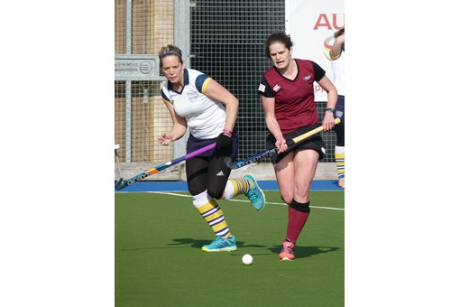 Ladies' 1s v Barnes 011