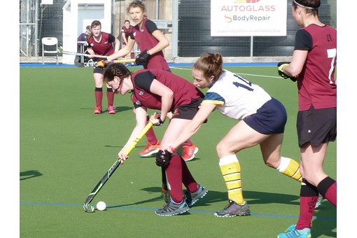 Ladies' 1s v Barnes 019