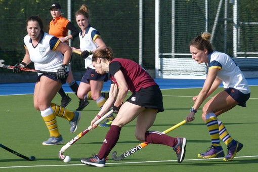 Ladies' 1s v Barnes 021