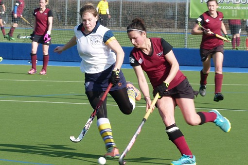 Ladies' 1s v Barnes 023