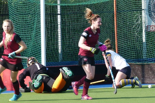 Ladies' 1s v Barnes 025