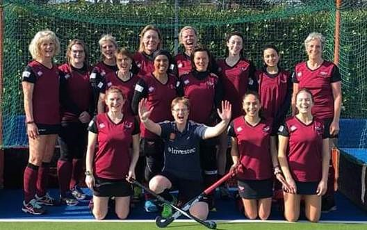 Ladies' 5s victorious team Maarch 2019 001