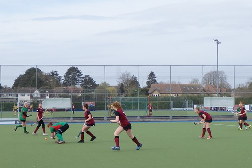 Ladies' 7s v Iver & Burnham 006