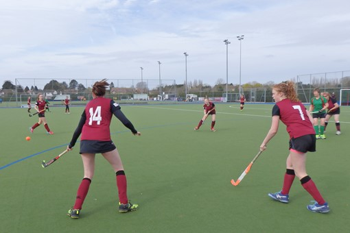 Ladies' 7s v Iver & Burnham 007