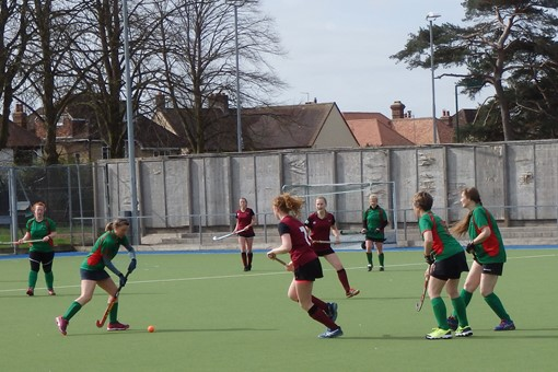 Ladies' 7s v Iver & Burnham 010