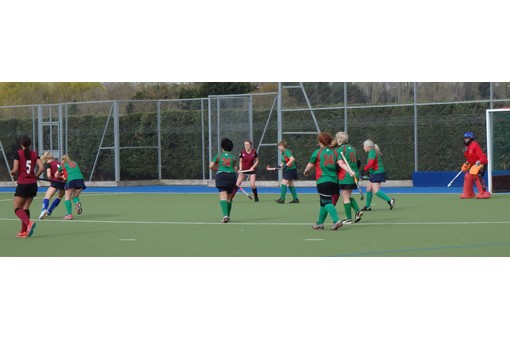 Ladies' 7s v Iver & Burnham 011