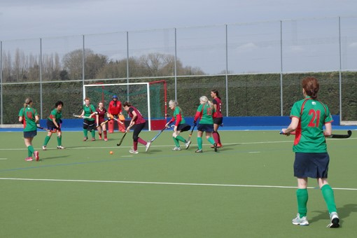 Ladies' 7s v Iver & Burnham 013