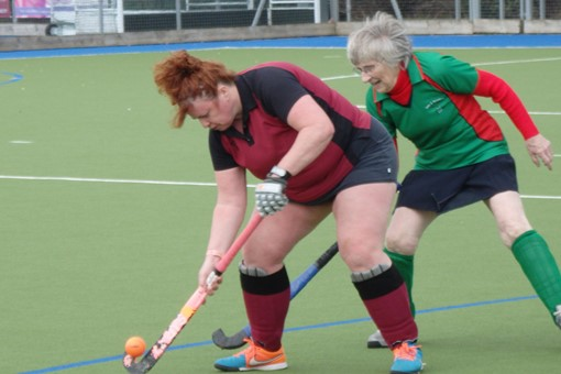 Ladies' 7s v Iver & Burnham 018