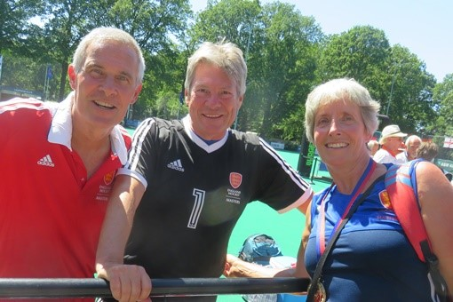 Three gold medallists at Grand Masters 001