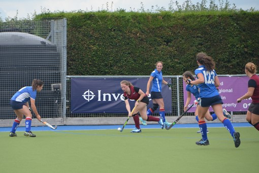 Ladies' 2s v Oxford 1s in Friendly 001