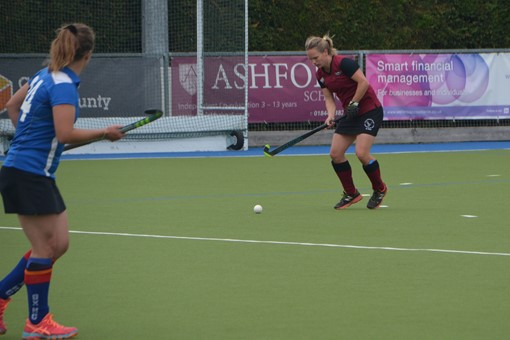 Ladies' 2s v Oxford 1s in Friendly 003