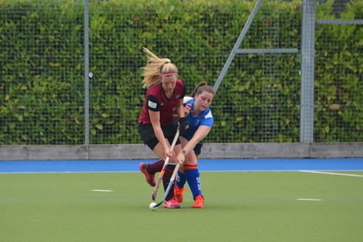 Ladies' 2s v Oxford 1s in Friendly 005