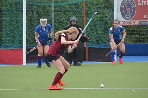 Ladies' 2s v Oxford 1s in Friendly 009