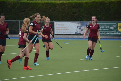 Ladies' 2s v Oxford 1s in Friendly 012