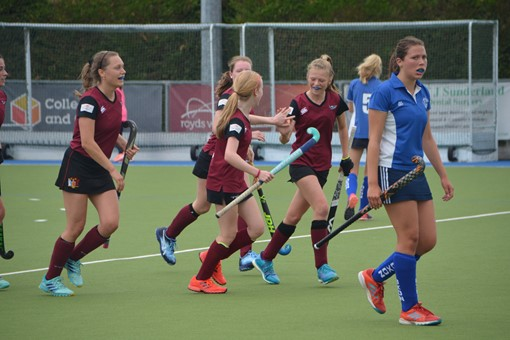 Ladies' 2s v Oxford 1s in Friendly 013
