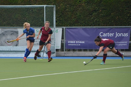 Ladies' 2s v Oxford 1s in Friendly 014