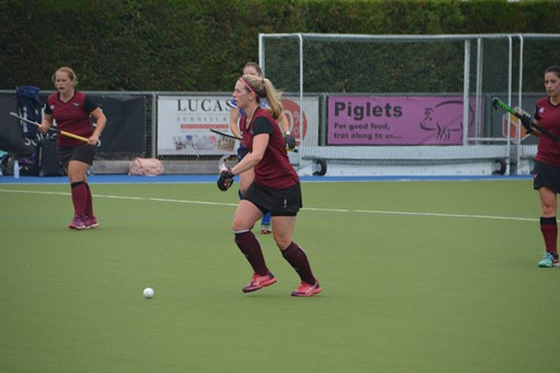 Ladies' 2s v Oxford 1s in Friendly 015