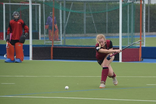 Ladies' 2s v Oxford 1s in Friendly 016