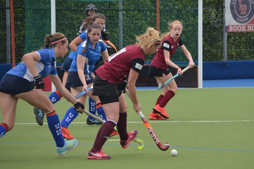 Ladies' 2s v Oxford 1s in Friendly 019