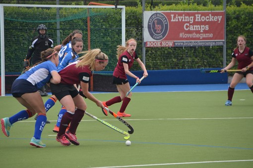 Ladies' 2s v Oxford 1s in Friendly 020