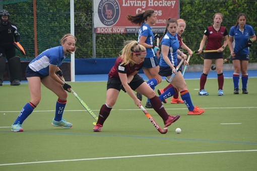 Ladies' 2s v Oxford 1s in Friendly 021