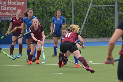 Ladies' 2s v Oxford 1s in Friendly 022