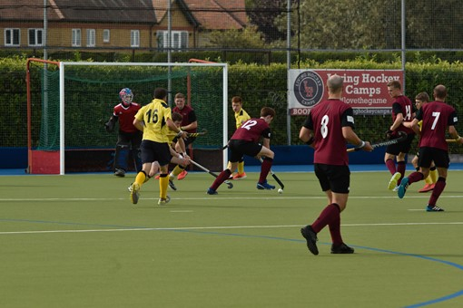 Men's 1s v Bath Buccaneers in friendly 010