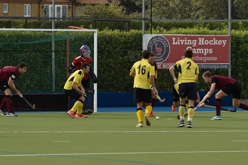 Men's 1s v Bath Buccaneers in friendly 011