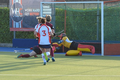 Ladies' 1s v Basingstoke 010