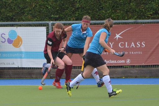Ladies' 2s v Epsom 001