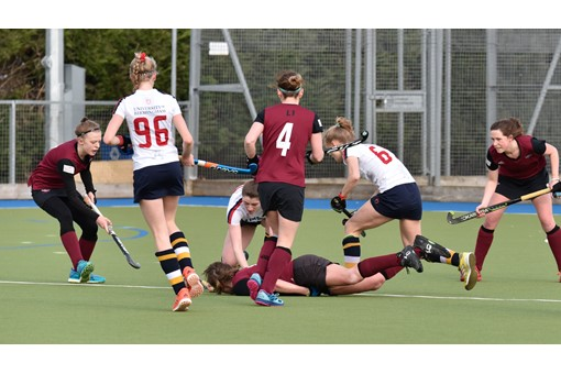 Ladies' 1s v University of Birmingham 017