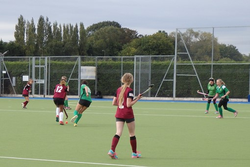 Ladies' 7s v Bicester in friendly game 010