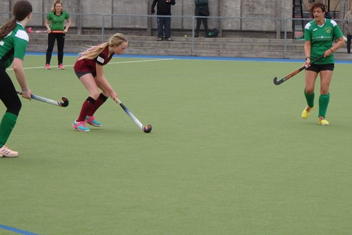 Ladies' 7s v Bicester in friendly game 016