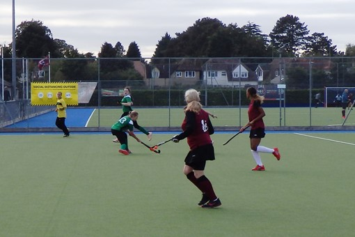 Ladies' 7s v Bicester in friendly game 018
