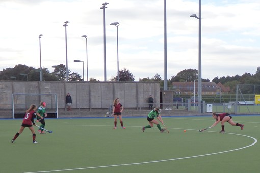 Ladies' 7s v Bicester in friendly game 021