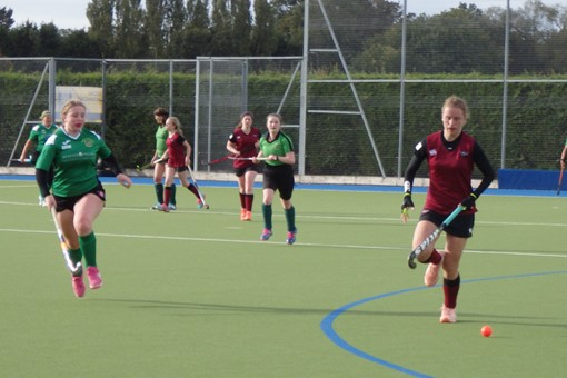 Ladies' 7s v Bicester in friendly game 024