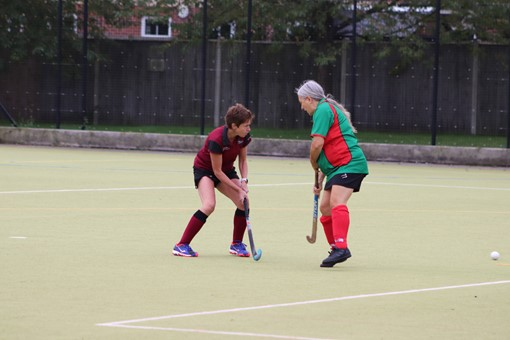 Ladies' 8s v Iver & Burnham 002