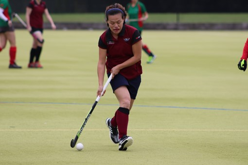 Ladies' 8s v Iver & Burnham 004