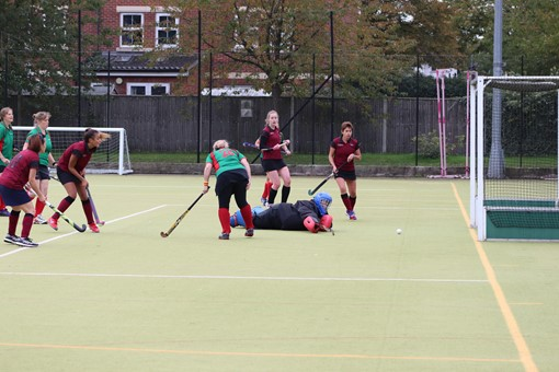 Ladies' 8s v Iver & Burnham 016