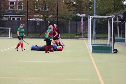 Ladies' 8s v Iver & Burnham 017