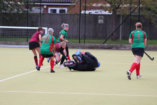 Ladies' 8s v Iver & Burnham 018