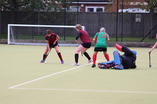 Ladies' 8s v Iver & Burnham 019