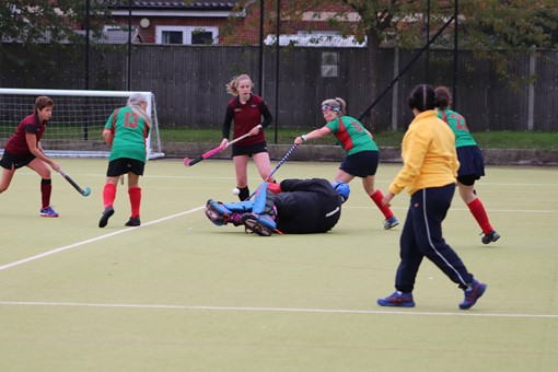 Ladies' 8s v Iver & Burnham 020
