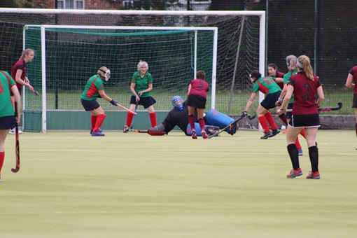 Ladies' 8s v Iver & Burnham 025