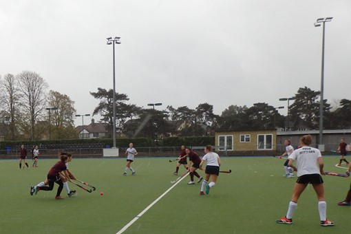 Ladies' 8s v Oxford University 4s 001
